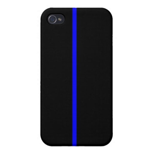 thin blue line iphone 4 4s case zazzle. Black Bedroom Furniture Sets. Home Design Ideas