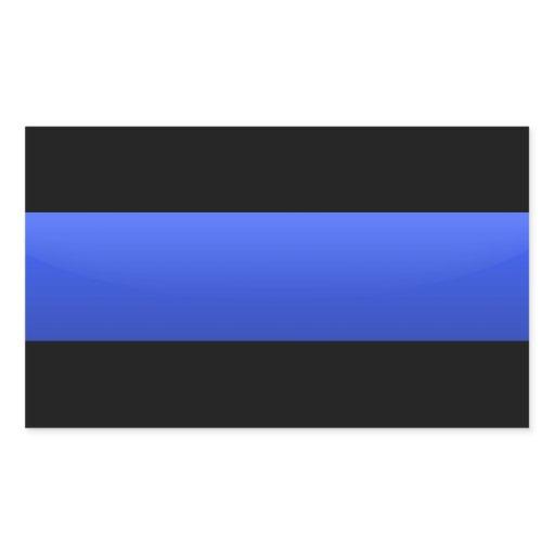 Thin Blue Line Police Sticker 120