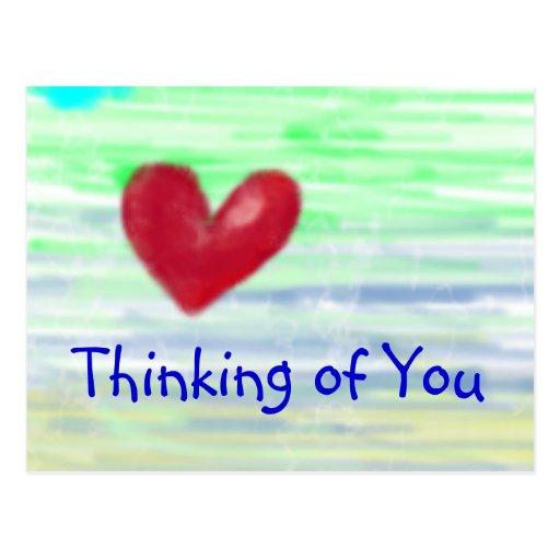 Thinking of You Postcard | Zazzle