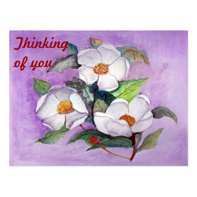 Three Magnolias Post Cards