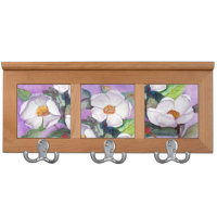 Three Magnolias Triptych Coat Rack