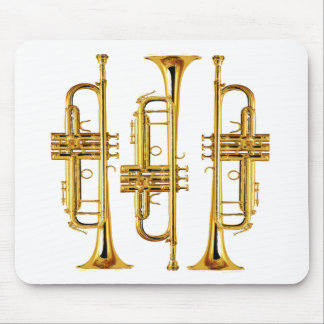Trumpet Mouse Pads Zazzle