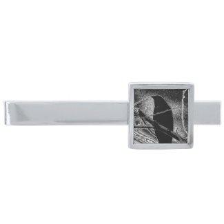 Tie Bar with Artful Oasis Original Digital Art