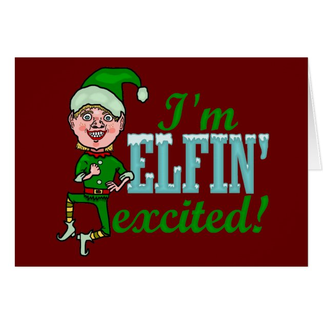 excited elf Gallery
