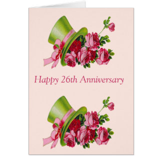 26th Anniversary Gifts T Shirts Art Posters Other Gift Ideas Wedding