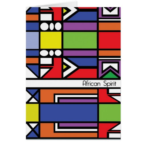 Traditional Zulu Card