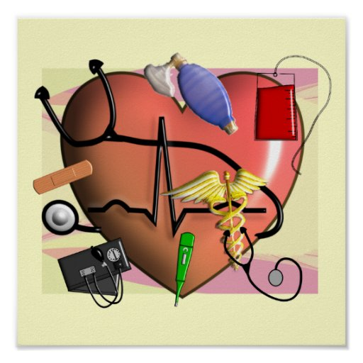Trauma/ER Nurse ART Poster | Zazzle