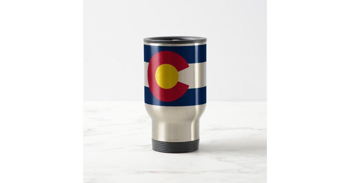 Colorado Mugs   Redbubble  Colorado Travel Mug