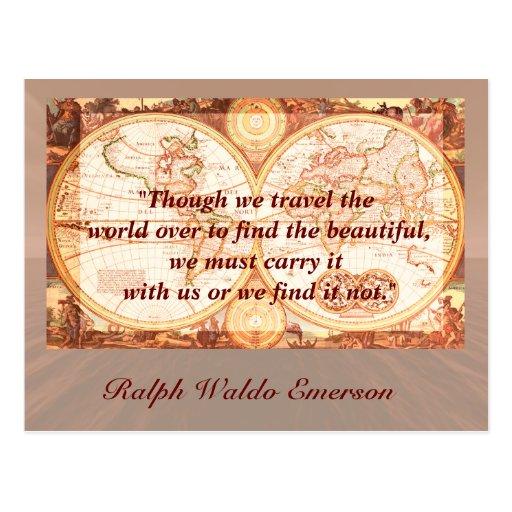 Postcard Quotes Travel