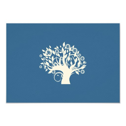 Tree Of Life Invitation Rsvp Celtic Life By: Tree Of Life Hebrew Jewish Wedding RSVP Card