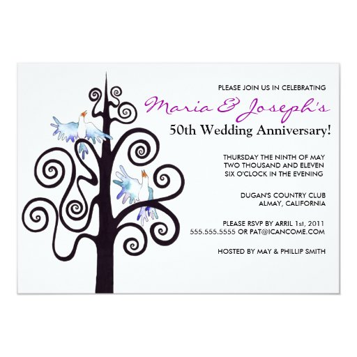 Tree Of Life Invitation Rsvp Celtic Life By: Tree Of Life Wedding Anniversary Party Invitation