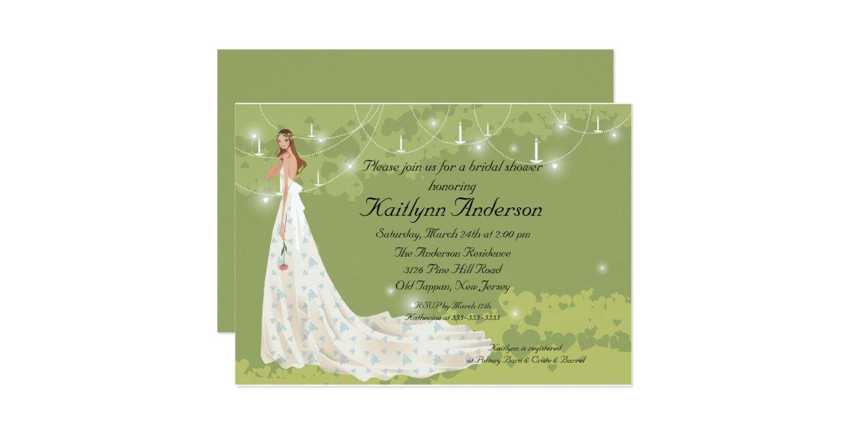 Trendy Wedding Gifts: Trendy Bride Bridal Shower Invitation