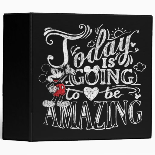 Today Is Going To Be Amazing 3 Ring Binder