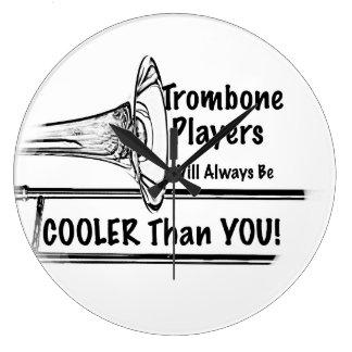 Trombone Wall Clocks Zazzle