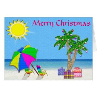 Tropical Christmas Cards, Cheerful Original Design