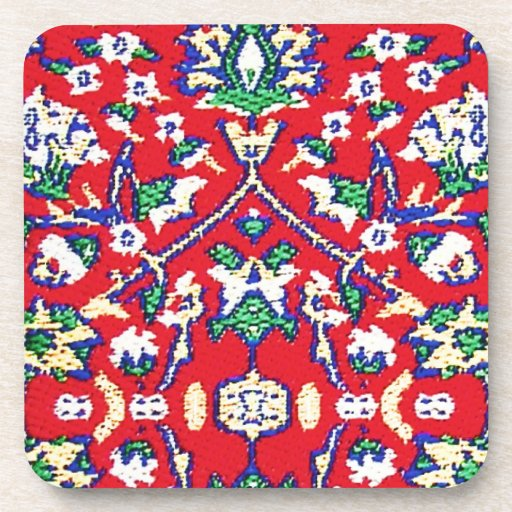 What Makes Turkish Rugs Great How You Can Read The Design Of A Turkish Rug: Turkey,Turkish Textile Cloth Rug Pattern Drink Coaster