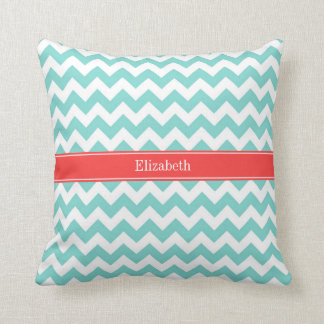 Turquoise And Coral Pillows Decorative Amp Throw Pillows