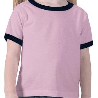 Two Cute Cartoon Pigs in Spring Children T-Shirt shirt
