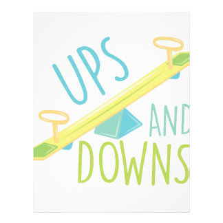 relationship ups and downs letterhead