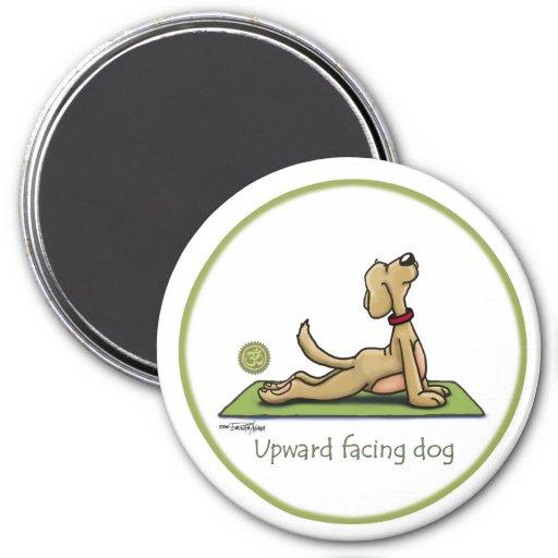 Upward Facing Dog - yoga pose Magnet | Zazzle