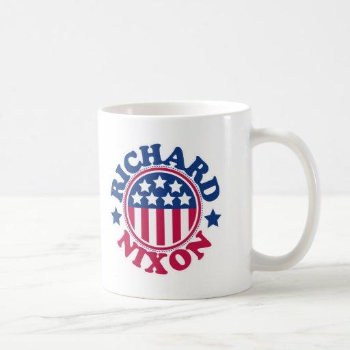 Nixons Coffee Mail: US President Richard Nixon Coffee Mug