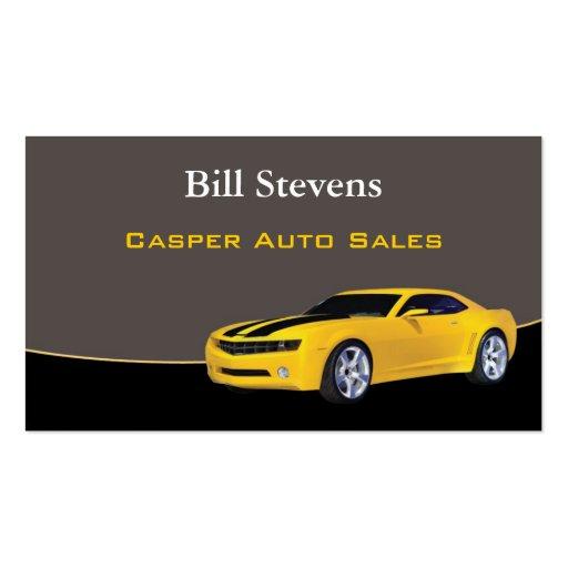 Car Dealer Business Cards   Best-Selling Card Designs  Car Sales Business Cards