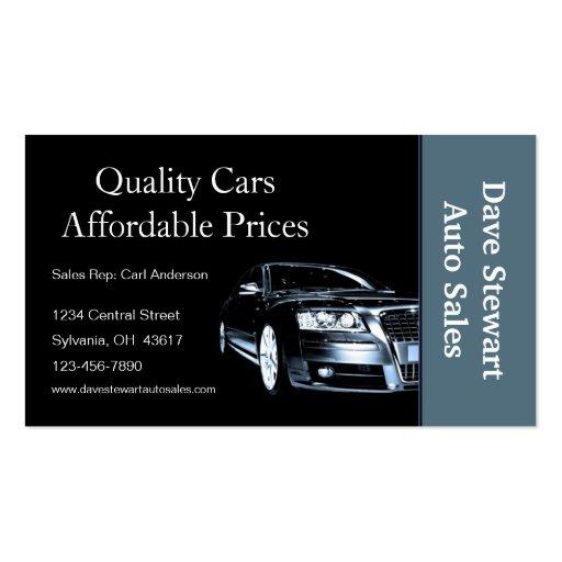 Car Sales Business Cards   Zazzle.com.au  Car Sales Business Cards