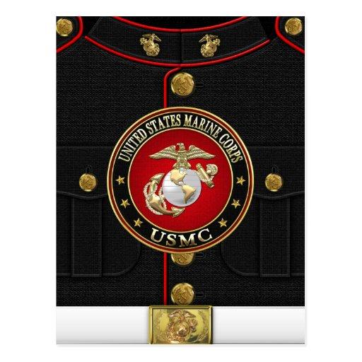 marine corps cards marine corps card templates postage. Black Bedroom Furniture Sets. Home Design Ideas