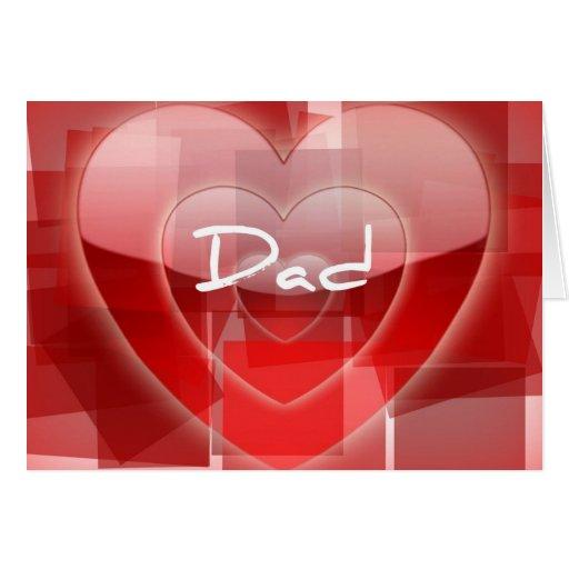 Valentine Card For Dad