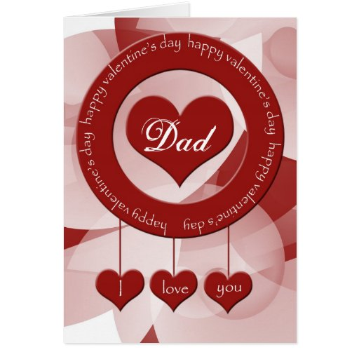Valentine's Day Card For Dad