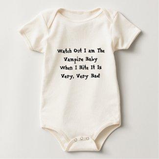 Vampire Baby Bite shirt shirt