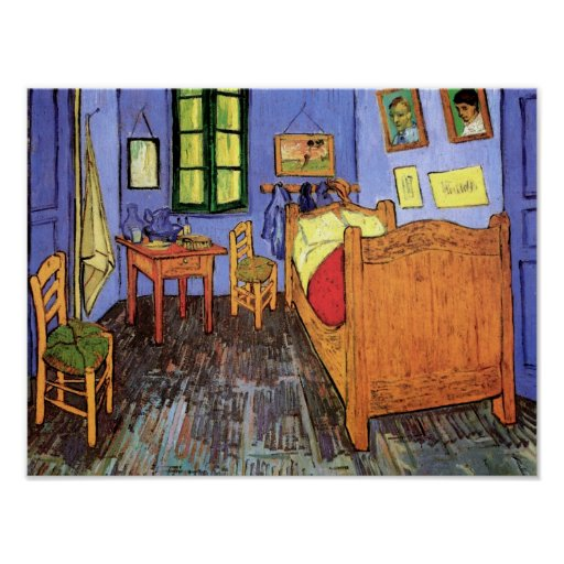 Van Gogh Bedroom In Arles: Van Gogh - Bedroom In Arles Poster