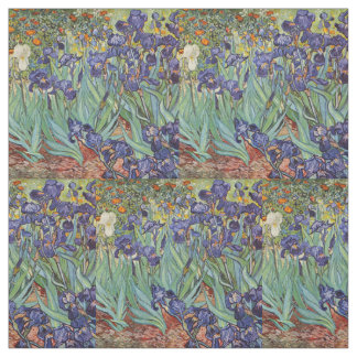 Irises Fabric Zazzle