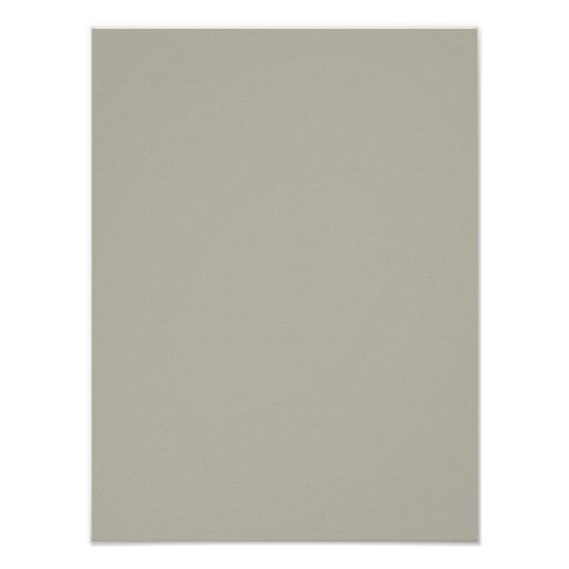 Taupe Color: Vapor Neutral Beige Taupe Solid Color Background Poster
