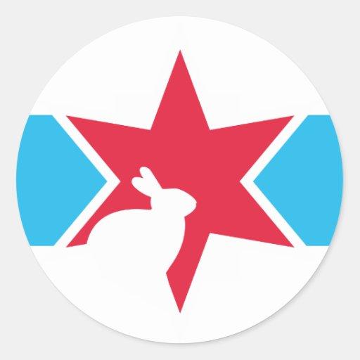 VC Stripe Logo Sticker | Zazzle