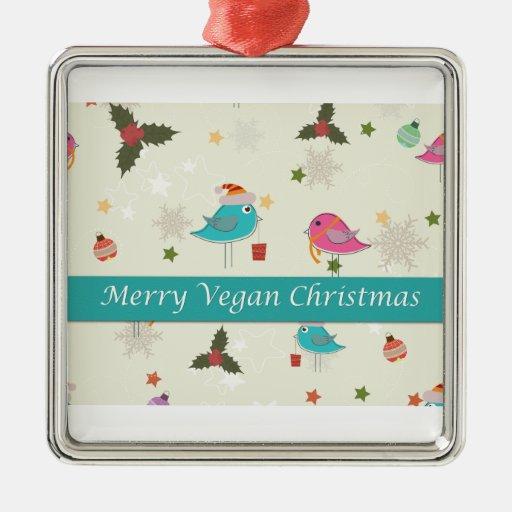 Vegan Christmas Gifts Ornaments | Zazzle