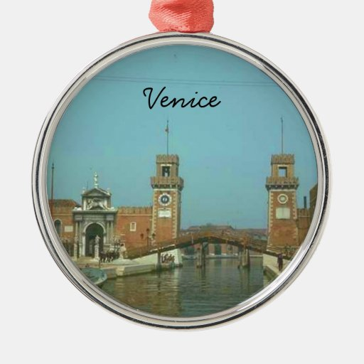 Venice Italy Christmas Ornament