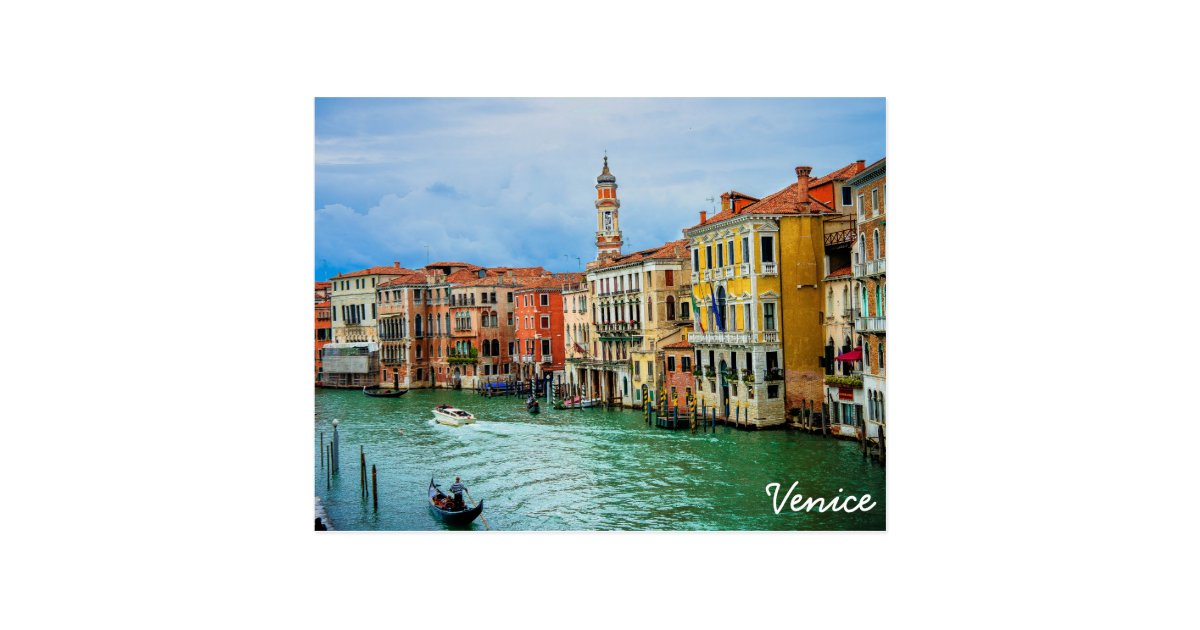 Venice Italy Postcard Zazzle