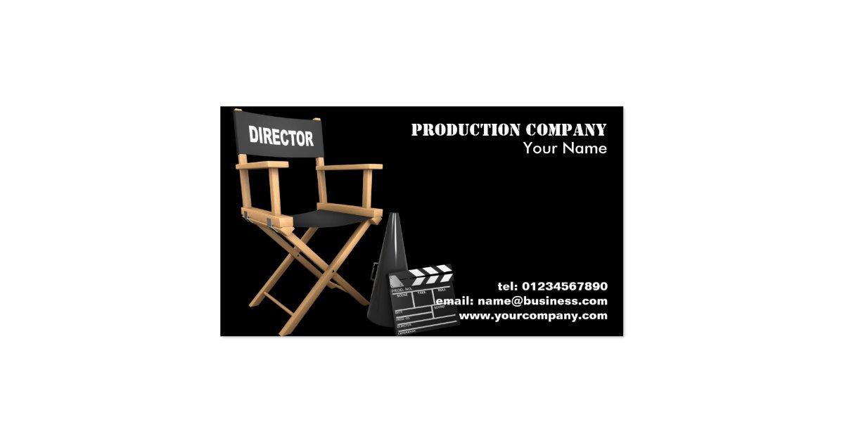 Video Production Business Cards Zazzle