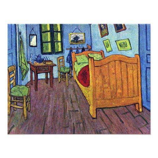 Van Gogh Bedroom In Arles: Vincent'S Bedroom In Arles By Vincent Van Gogh 4.25x5.5