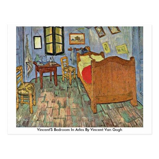 Van Gogh Bedroom In Arles: Vincent'S Bedroom In Arles By Vincent Van Gogh Postcard
