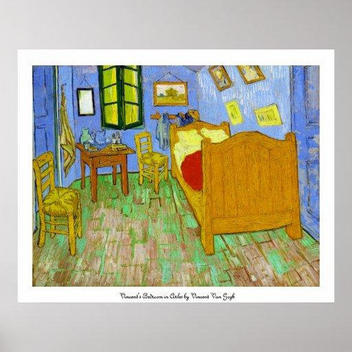Van Gogh Bedroom In Arles: Vincent's Bedroom In Arles By Vincent Van Gogh Poster