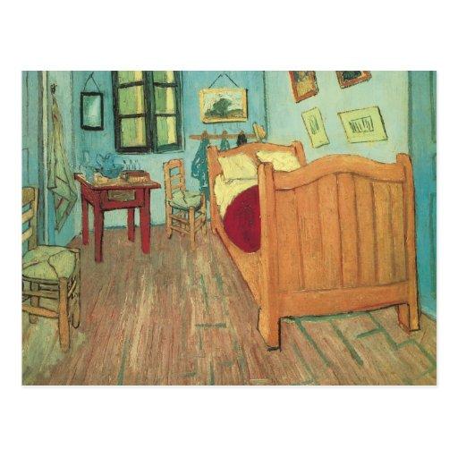 Van Gogh Bedroom In Arles: Vincent's Bedroom In Arles, Van Gogh, Vintage Art Post