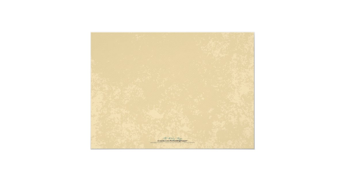 Textured Paper For Wedding Invitations: Vineyard Wedding Invitation (Parchment Texture)