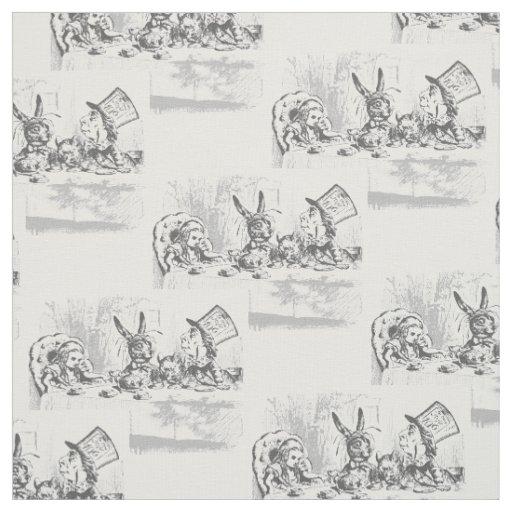 Vintage Alice In Wonderland Fabric 98