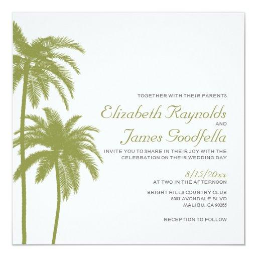Vintage Beach Wedding Invitations: Vintage Beach Destination Wedding Invitations