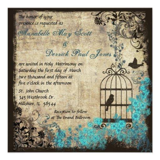 Wedding Invitations Birdcage: 800+ Bird Cage Wedding Invitations, Bird Cage Wedding