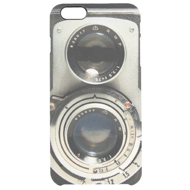 more photos d0b8b f55b6 Vintage Camera Pattern - Old Fashion Antique Look Uncommon Clearly™  Deflector IPhone 6 Plus Case