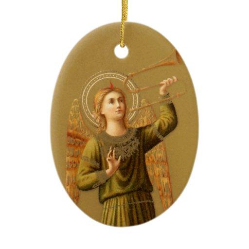 Vintage Christmas Renaissance Angel Ornament