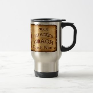 Vintage Design Personalized Basketball Coach Gifts Mugs